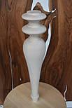 Мебельные ножки и опоры деревянные для консоли H.500 D.100, фото 2