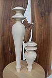 Мебельные ножки и опоры деревянные для консоли H.500 D.100, фото 3