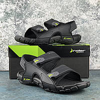 Сандалии мужские черные резиновые удобные Rider Tender Райдер оригинал Бразилия