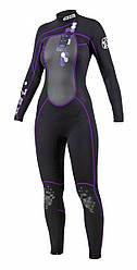 Гидрокостюм женский из неопрена  JOBE Full Suit Indy Purple