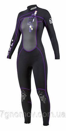 Гидрокостюм женский из неопрена  JOBE Full Suit Indy Purple , фото 2