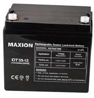 Промышленный Аккумулятор UPS MAXION 12- 33 (12V,33Ah)