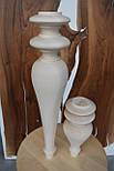 Средние ножки  для  мебели деревянные  Н 250, фото 4
