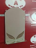 Зеркало в ванную № Лотос (м) /Дюбель 6х40 в Подарок
