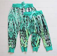 Летние штанишки гаремы на малышек. Размер: 80 см