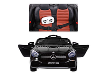 Детский Машина электромобиль Mercedes AMG ,мягкое сиденье,колеса ЕВА