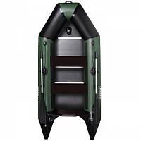 Килевая надувная лодка AquaStar D-275 RFD зеленая