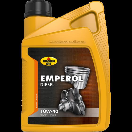 Полусинтетическое Моторное Масло (полусинтетика) KROON-OIL EMPEROL DIESEL EMPEROL  10w40 1 л