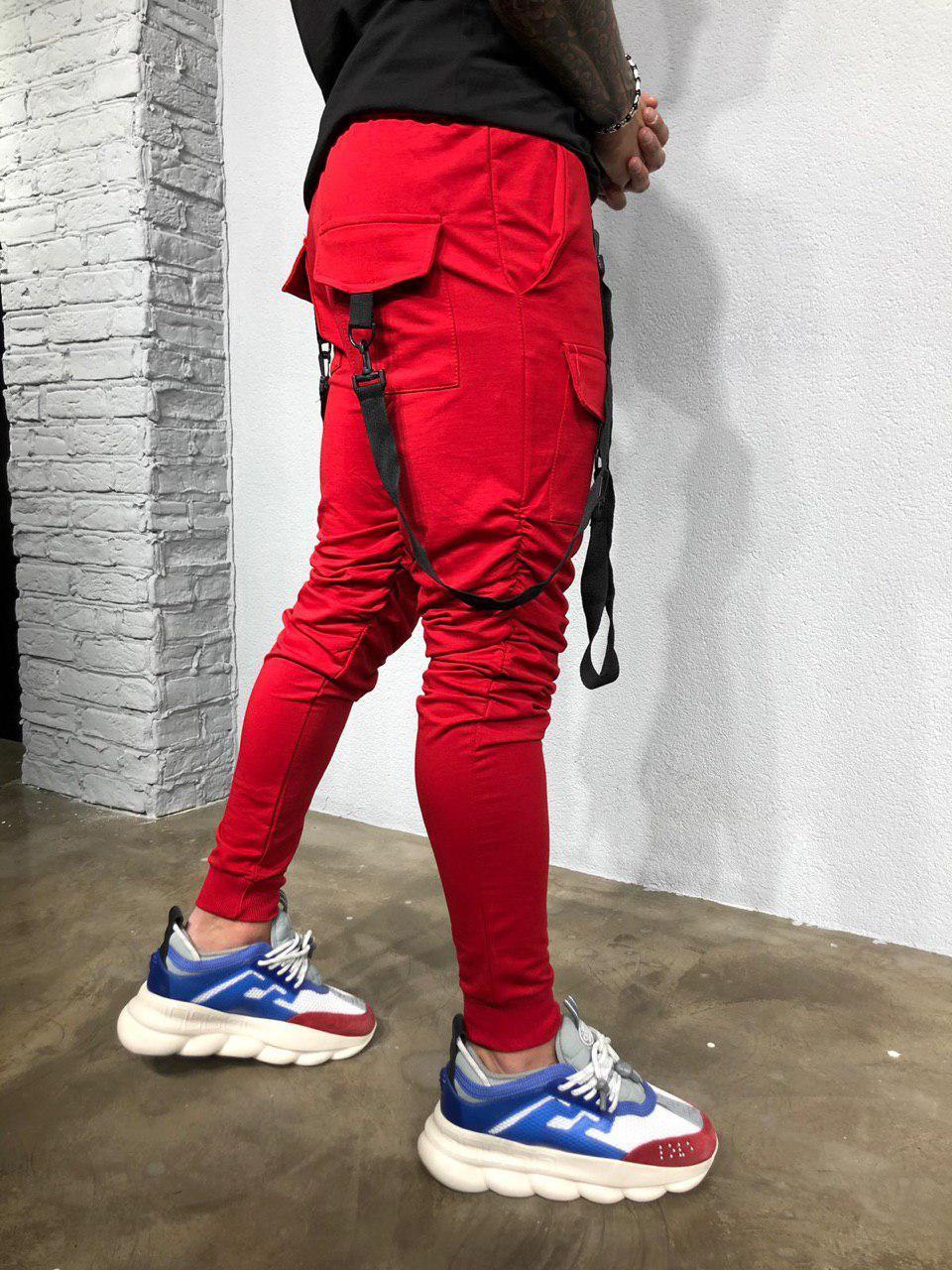 b5382a62 Мужские красные штаны с карманами: продажа, цена в Киеве. джинсы ...