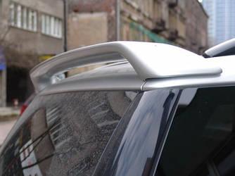 Спойлер козырек тюнинг Mercedes ML W163