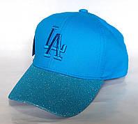 Кепка LosAngeles, голубая (50-52 см)