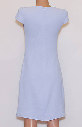 Літнє плаття приталене однотонне (42-44), фото 2