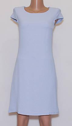Літнє плаття приталене однотонне (42-44), фото 3