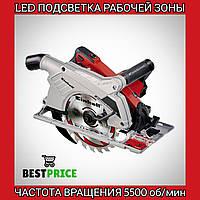 Электропила ручная дисковая циркулярная Einhell - TE-CS 190 Expert