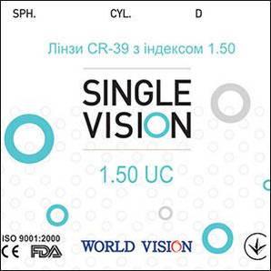 Линзы Vision CR-39 с индексом 1,50