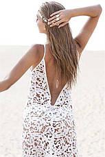 Пляжне плаття ажурна туніка, фото 2