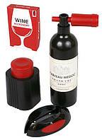 Набор сомелье Wine Story (вакуумная пробка, штопор, нож для оплетки)