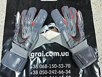 Вратарские перчатки Nike Grip 3 GK Blue/Silver/Black