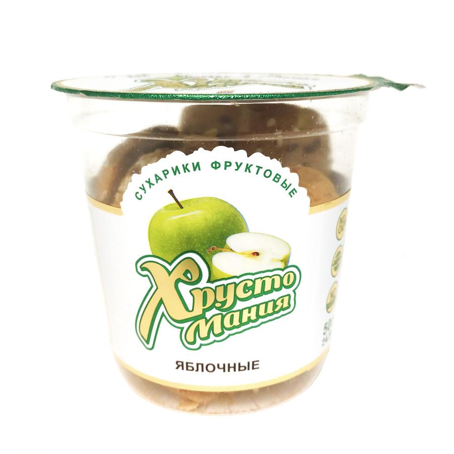 Сухарики фруктові ХРУСТОМАНИЯ ЯБЛУЧНІ, 50 г