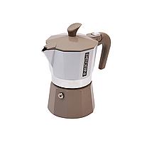 Гейзерная кофеварка PEDRINI VINTAGE BROWN 3TZ