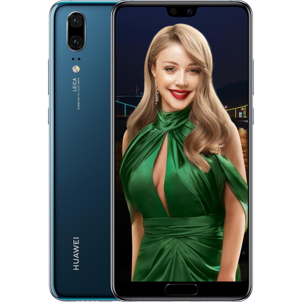 Huawei P20 4/64GB Midnight Blue (8013267)