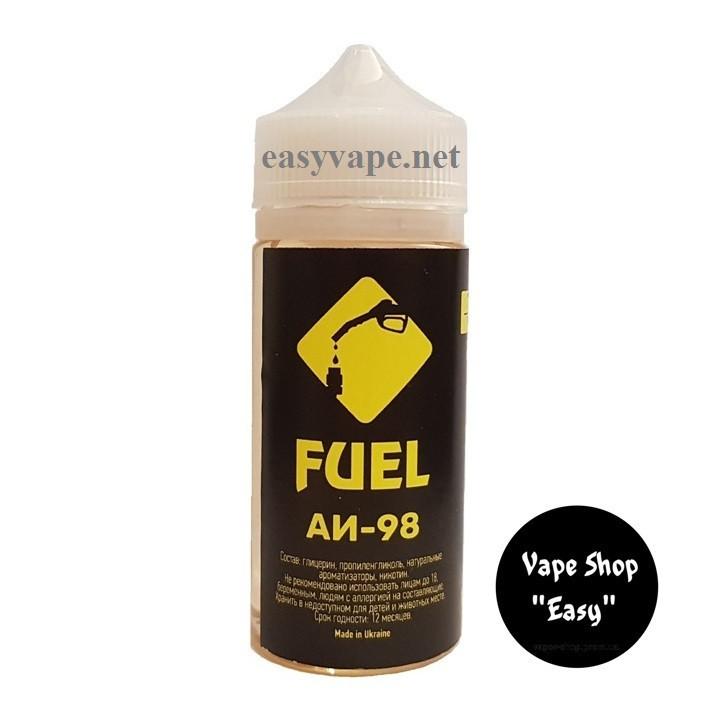 Fuel  АИ 98 EU 1 100 ml Жидкость для электронных сигарет \ вейпа.