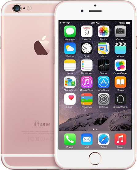 Apple iPhone 6s 64GB Refurbished Rose Gold MKQR2 (1221274)