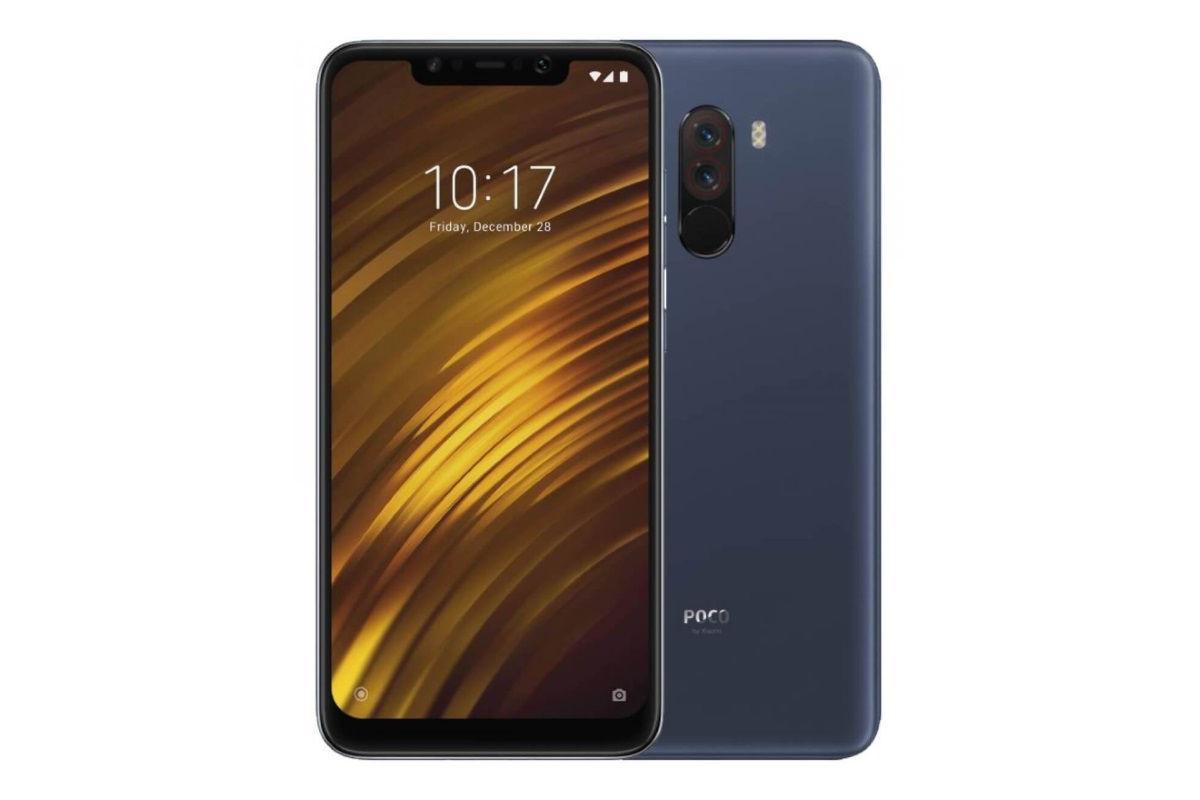 Xiaomi Pocophone F1 6/128G blue (EU)