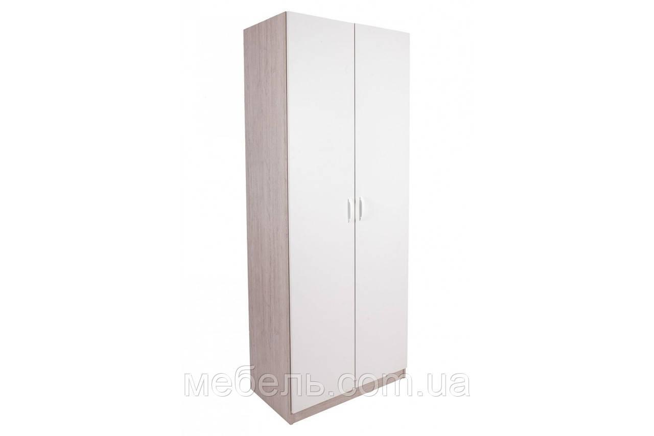 Шкаф с дверью Barsky Office White/Oregon 800x450x2000 OFWO-04