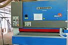 Калибровально-шлифовальный станок б/у Houfek Maxx 1300RC с двумя агрегатами промышленного типа, фото 3