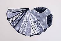Красивые трусики женские трикотажные с кружевом Nicoletta размер 2XL