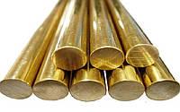 Прутки оловянно фосфористой бронзы БрОФ 25-200мм ГОСТ 613-79
