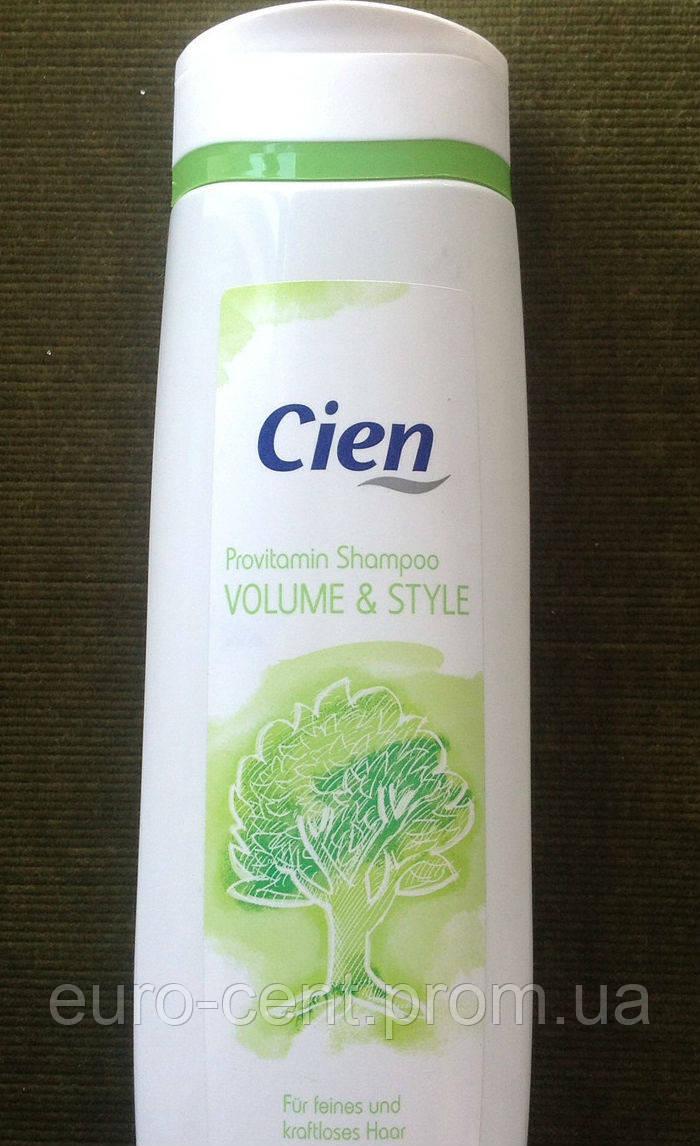 Шампунь для объема Cien Shampoo Provitamin Volume&Style