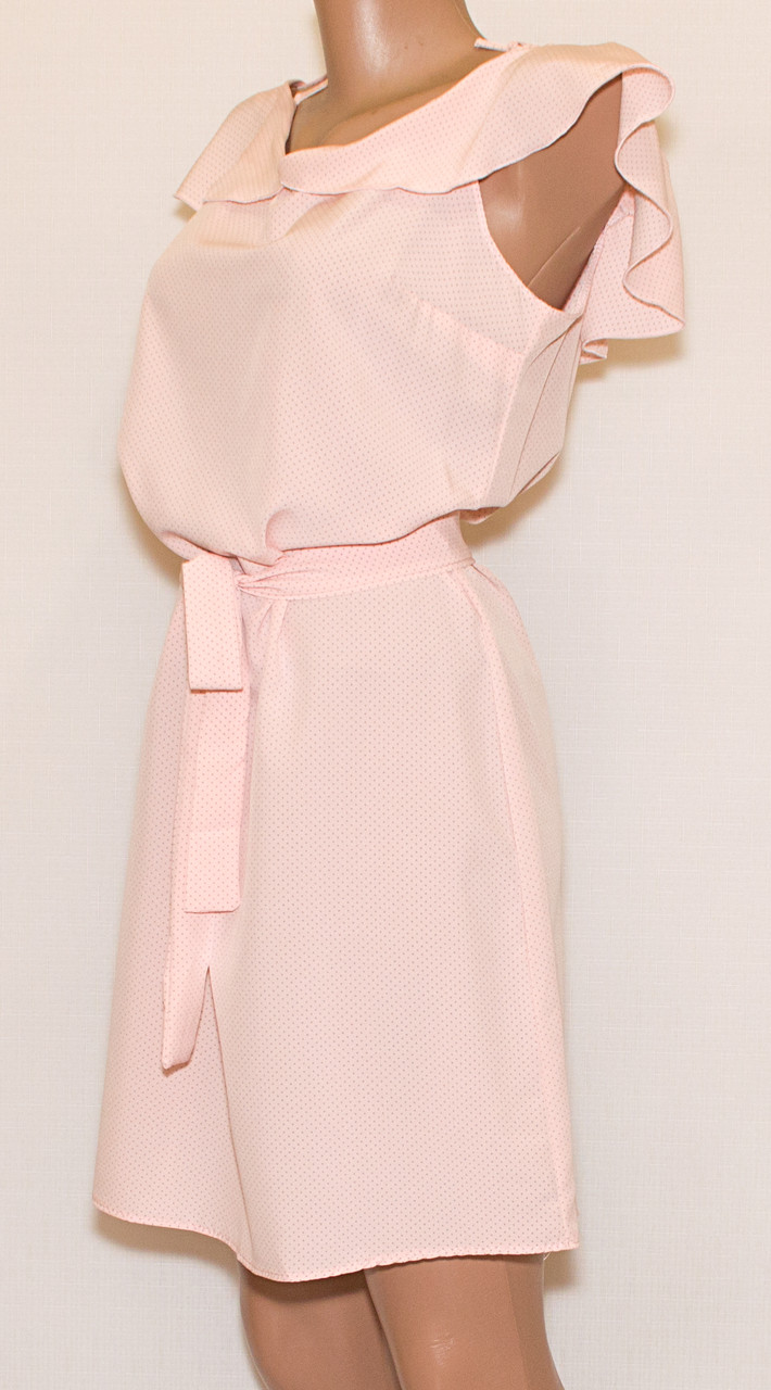 Сарафан-платье с открытыми плечами 48-50