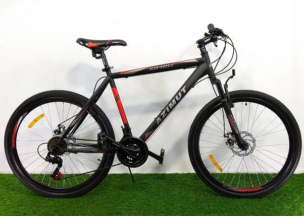 Горный велосипед Azimut Spark 26 D+, фото 2