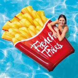 """Надувной матрас """"Картошка Фри"""" INTEX 175х132см (Интекс) от 12 лет (до 90 кг) пляжный плот для плавания"""