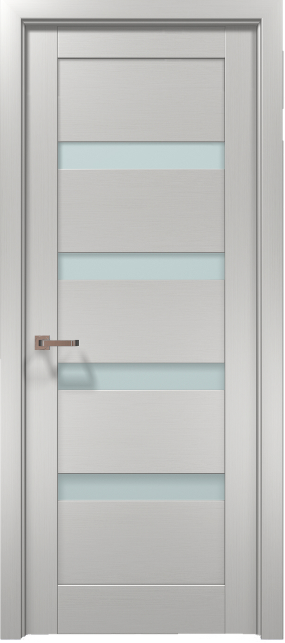 Дверное полотно 2000х610х40 Папа Карло Optima 02 клен белый