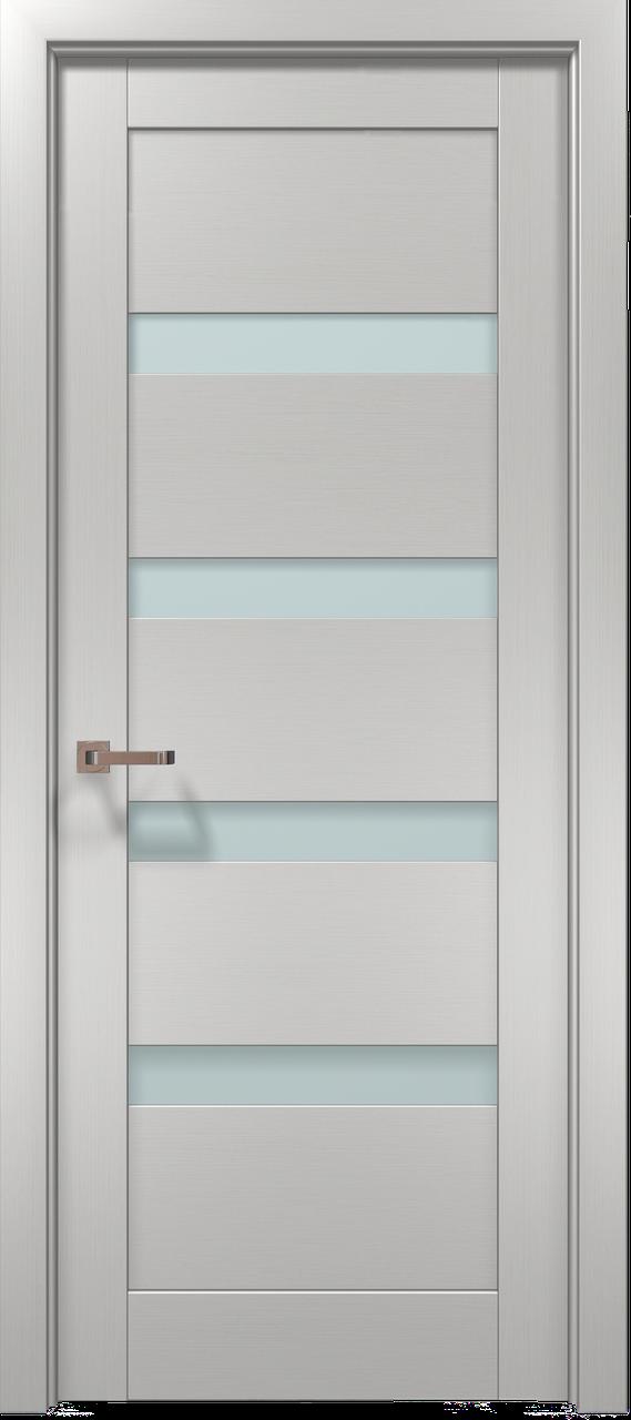 Дверное полотно 2000х710х40 Папа Карло Optima 02 клен белый