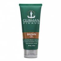 Гель краска для волос CLUBMAN коричневый 89мл.