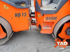 Дорожный каток Hamm HD12VV (2014 г), фото 3