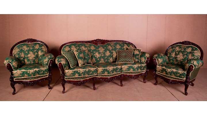 Новий класичний комплект меблів Міла (3+1+1)