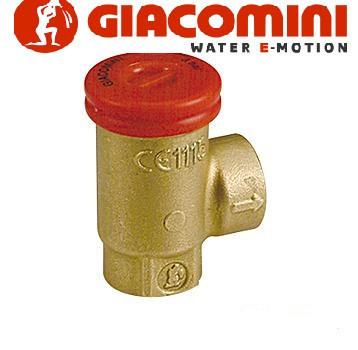 Предохранительный  клапан з внут. резьбой 3 бар Giacomini