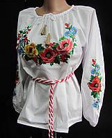 Блуза вышитая подростковая