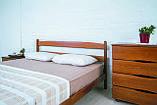 """Ліжко дерев'яне """"Ліка без ізножья"""" Олімп, фото 2"""