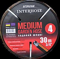 Шланг поливочный Interhose MEDIUM-4 19 мм 50м