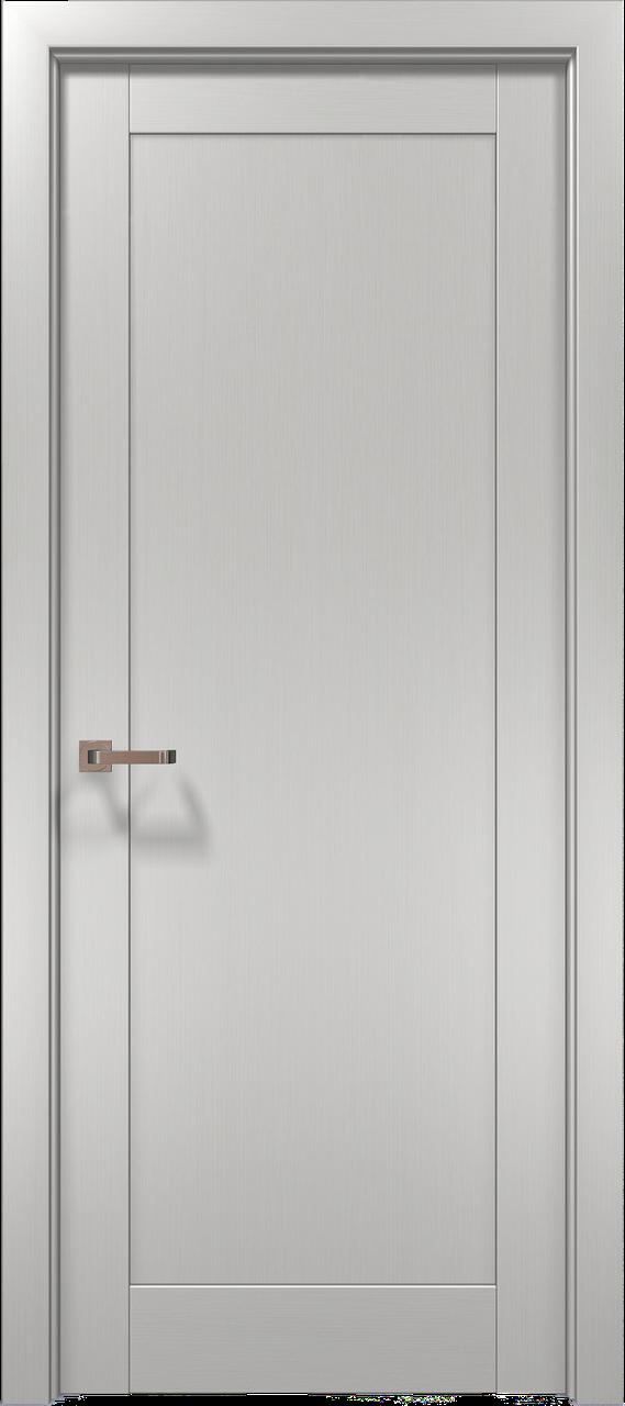 Дверное полотно 2000х610х40 Папа Карло Optima 03 клен белый