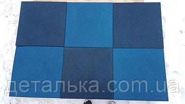 Резиновая плитка 400*400 мм. толщиной 20 мм., фото 3