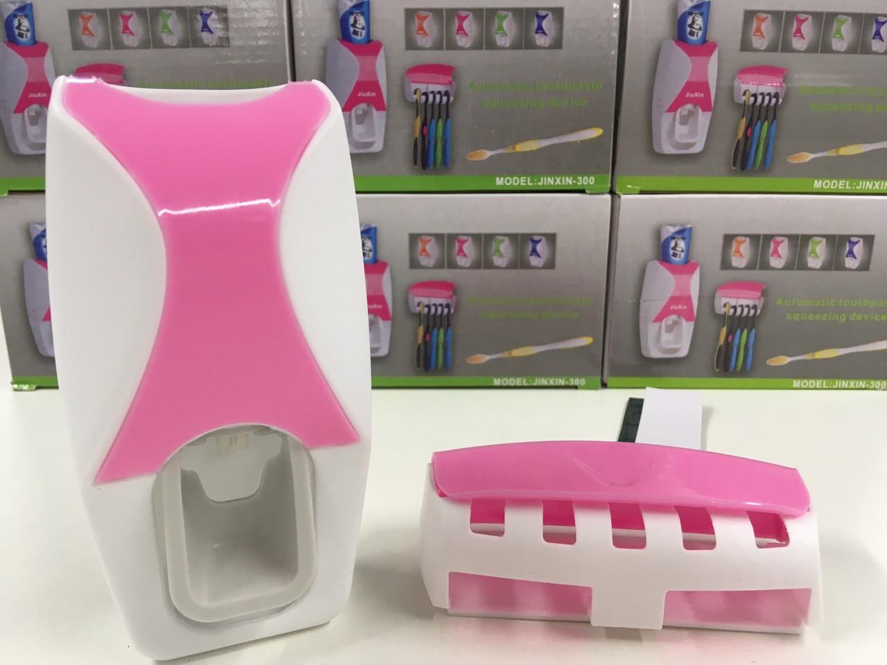 Держатель с дозатором для зубных щёток XIN-300 (100 шт)