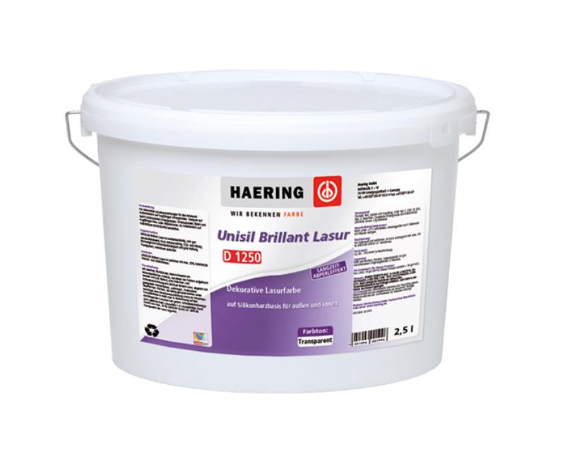 Лак силиконовый HAERING UNISIL-BRILLIANT-LASUR фасадный 2,5л