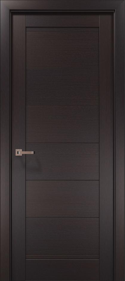 Дверное полотно 2000х610х40 Папа Карло Optima 3F дуб нортон